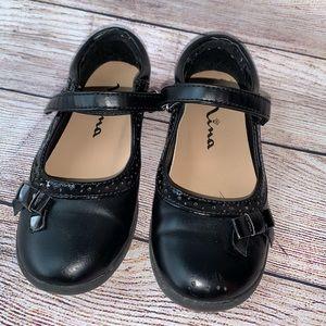 Girls Nina Size 13 Black Dress Shoes